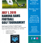 Ramona FB Golf Tournament