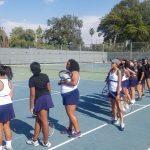 Girls Tennis defeats Arroyo Valley