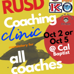 RUSD Coaching Clinic