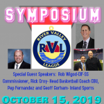 River Valley League Sportsmanship Symposium,  Tuesday, Oct. 15