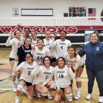 Girls Volleyball defeats Patriot