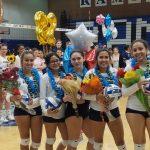 Girls Volleyball defeats Patriot on Senior Night