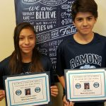 Ramona Athletes of the week