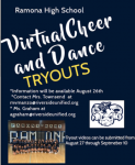 Virtual Cheer and Dance Tryouts