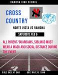 Cross Country 2/6 NoVi at Ramona