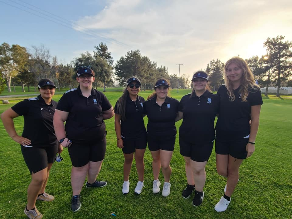 Girls Golf loses a close match to Poly