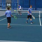 Boys Tennis takes down Blue Devils
