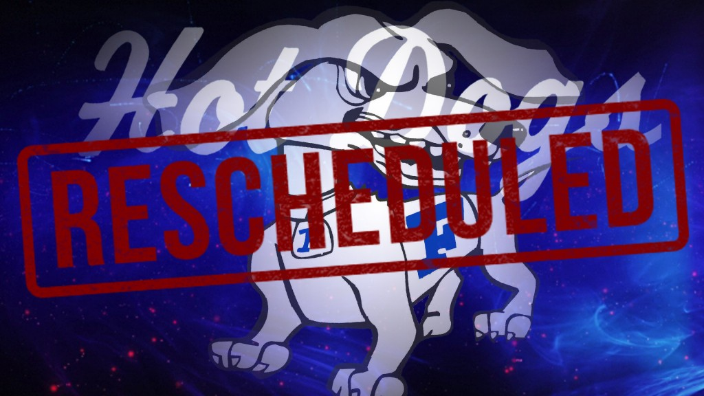 Cancellations and Reschedules for 4/25, 4/26, and 4/27