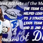 Female Student-Athlete of the Month for September