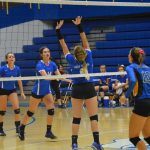 Volleyball Takes Down the Athenians