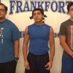 Football Senior Week. Edition #3 Chavez, Martinez and Conda