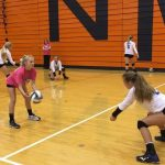 Volleyball Defeats North Montgomery