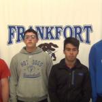 Football Senior Week. Edition #4 Garcia, Taylor, Hopkins and Davis