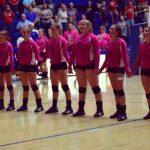 Volleyball Victorious on Senior Night