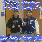 HD Wrestling go 3-2 at Webo Invite