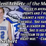Female Student-Athlete of the Month for November