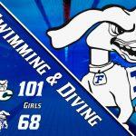 Hot Dogs Swim Hard vs. Bulldogs
