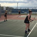 Girls Tennis back in the Win Column