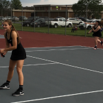 Girls Tennis Sweeps Southmont