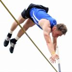 Colton Crum Sets New School Record