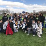 Boys Track and Field Win County Meet!