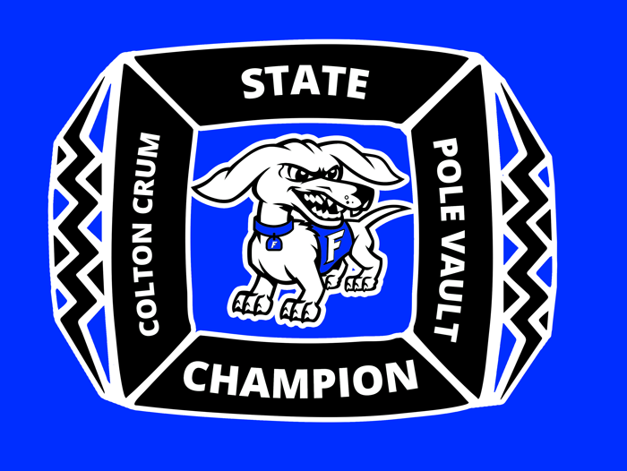 Colton Crum Pole Vault State Championship T-Shirt