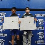 Sagamore Conference Wrestling: 4th Place Team Finish, 2 Champions