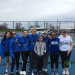 Girls Middle School Tennis finishes 3rd place at Northridge Invitational