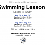 Hot Dog Swimming and Diving Swimming Lessons