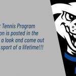 Summer Tennis Information