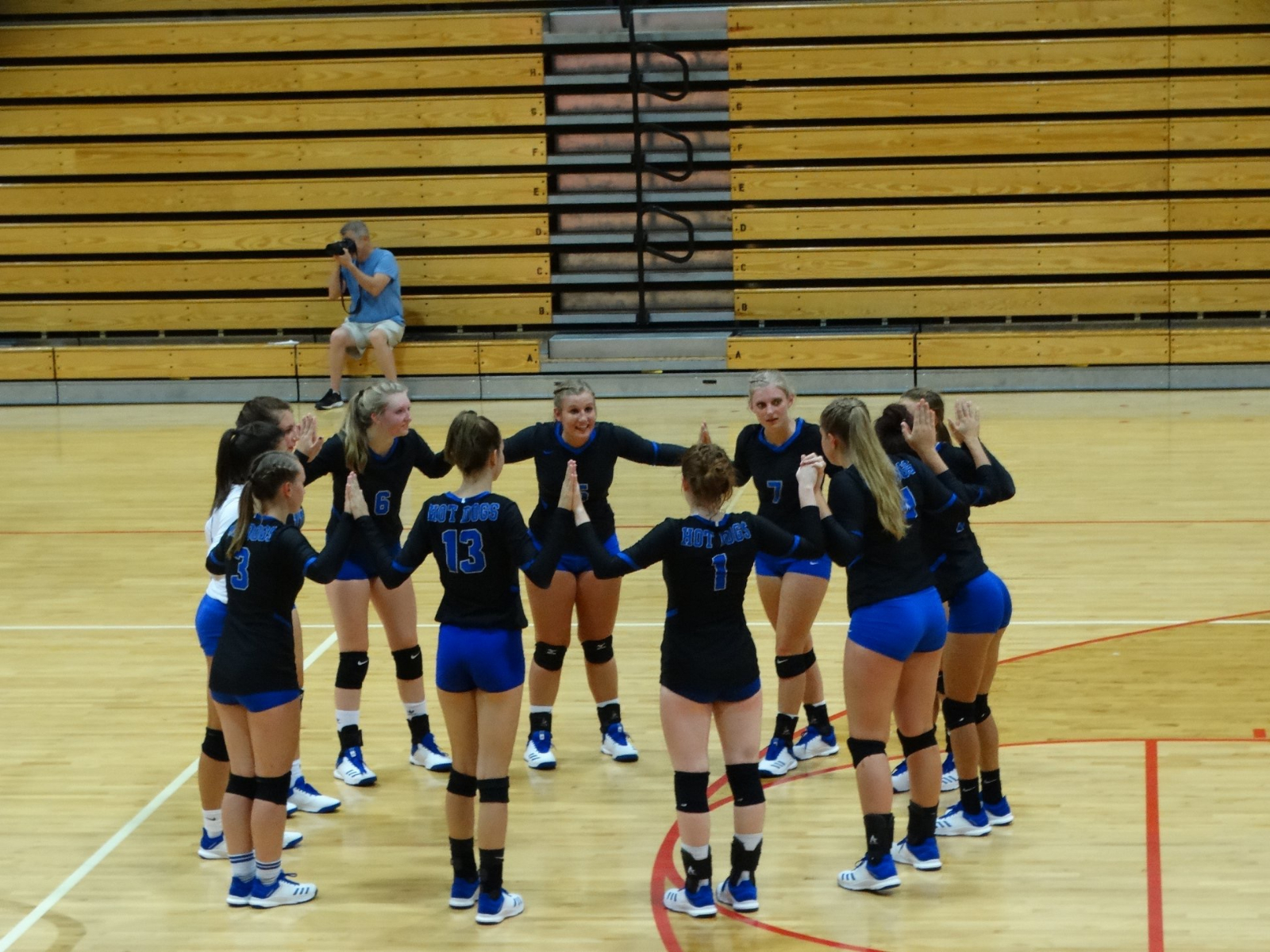 Volleyball Comes Back to Win at Rossville