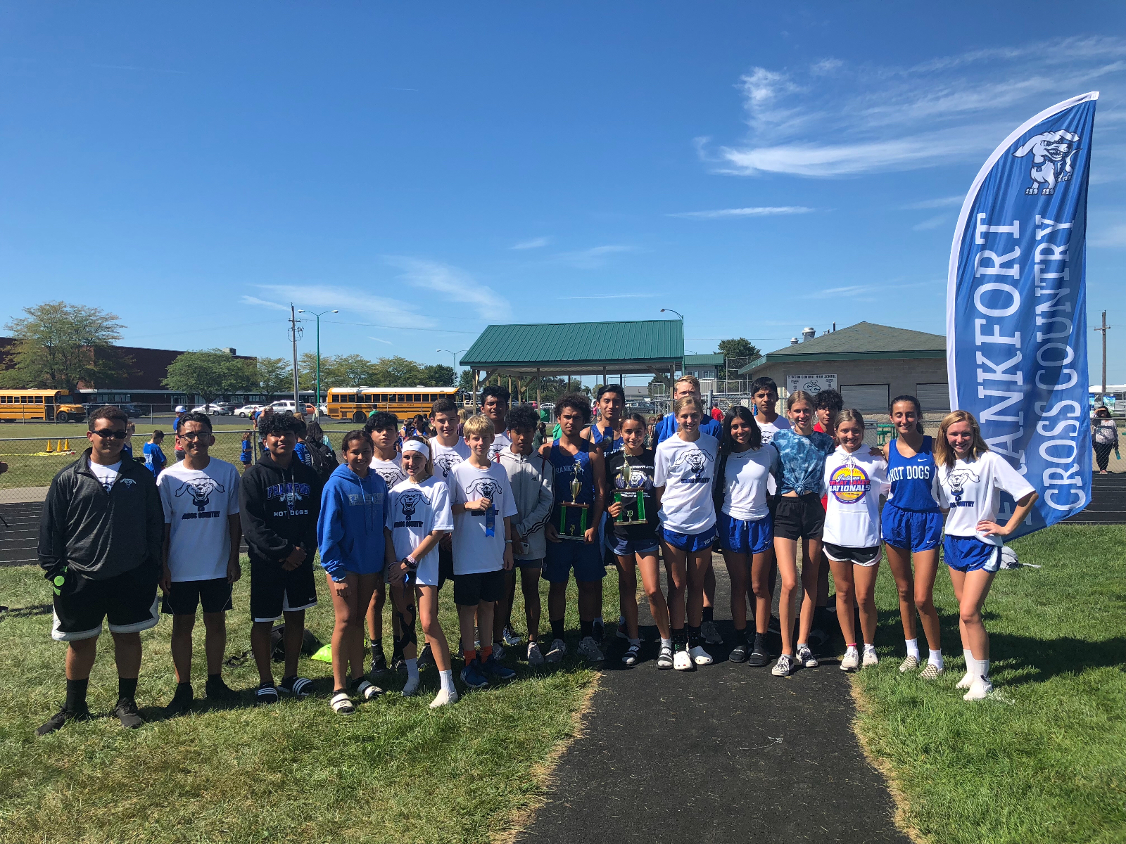 Boys and Girls XC Dominate at the County Meet