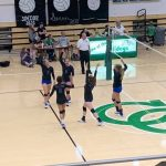 Volleyball Sweeps Clinton Central