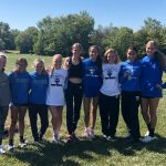 Girls XC Finishes 5th at the SAC Meet