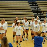 Volleyball Sweeps Crawfordsville