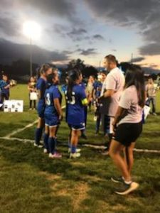 Girls' Soccer Senior Night