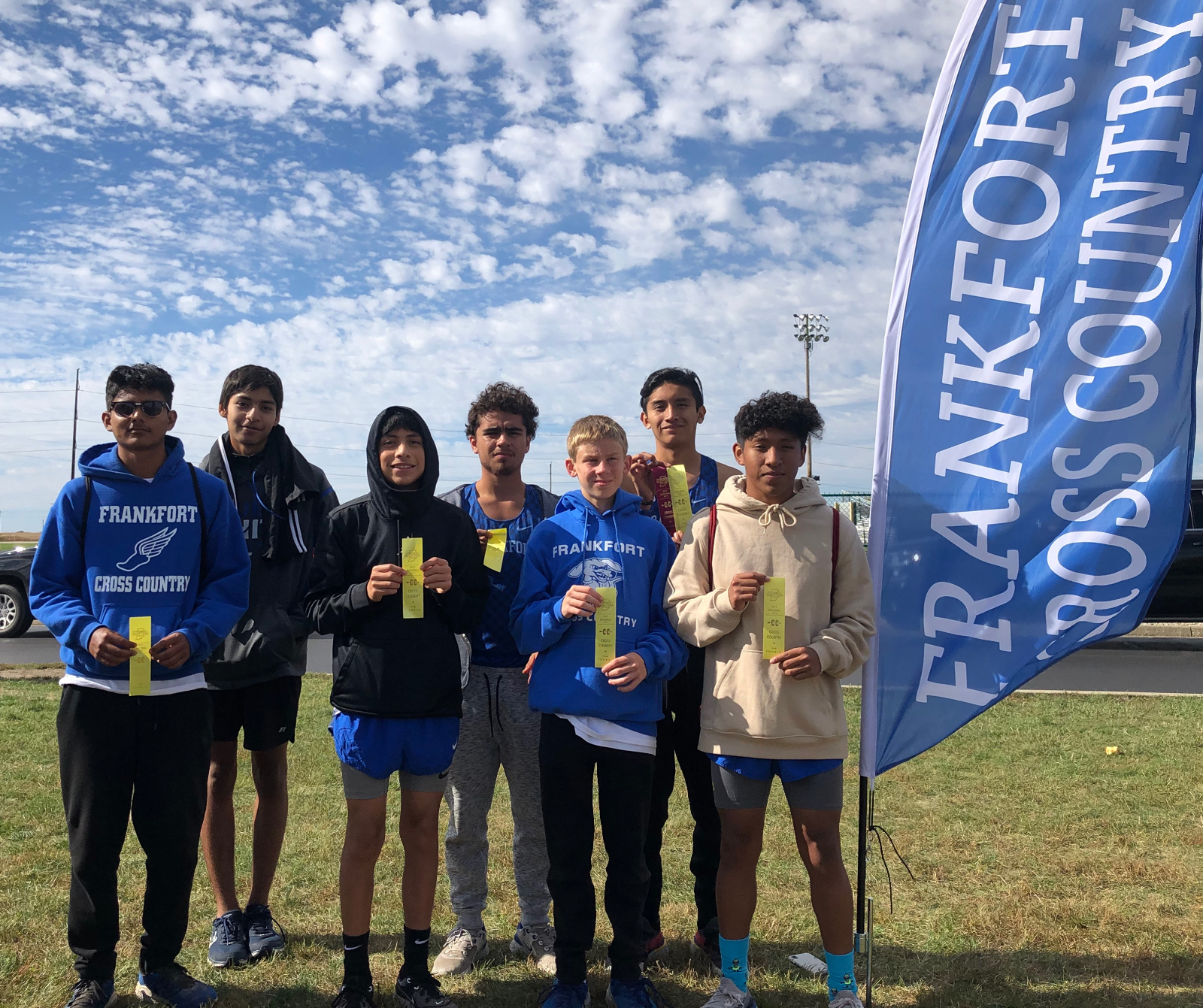 Boys Cross Country Qualifies for Semi-State, Alanis for Girls