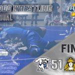 Hot Dog Wrestling 51-18 over Delphi