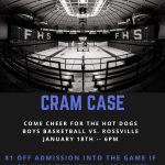 Cram Case Arena on January 18, 2020