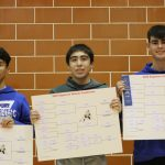 Roa, Anthony and Ostler Conference Champions
