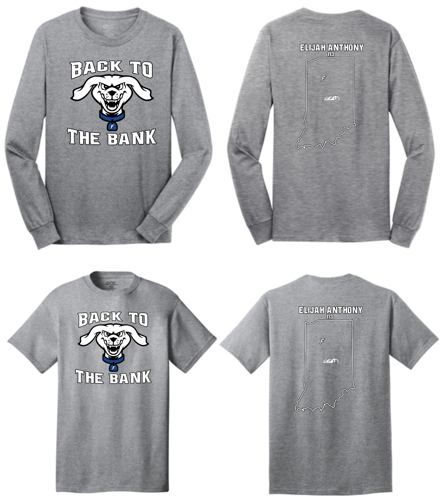 BACK TO THE BANK SHIRTS