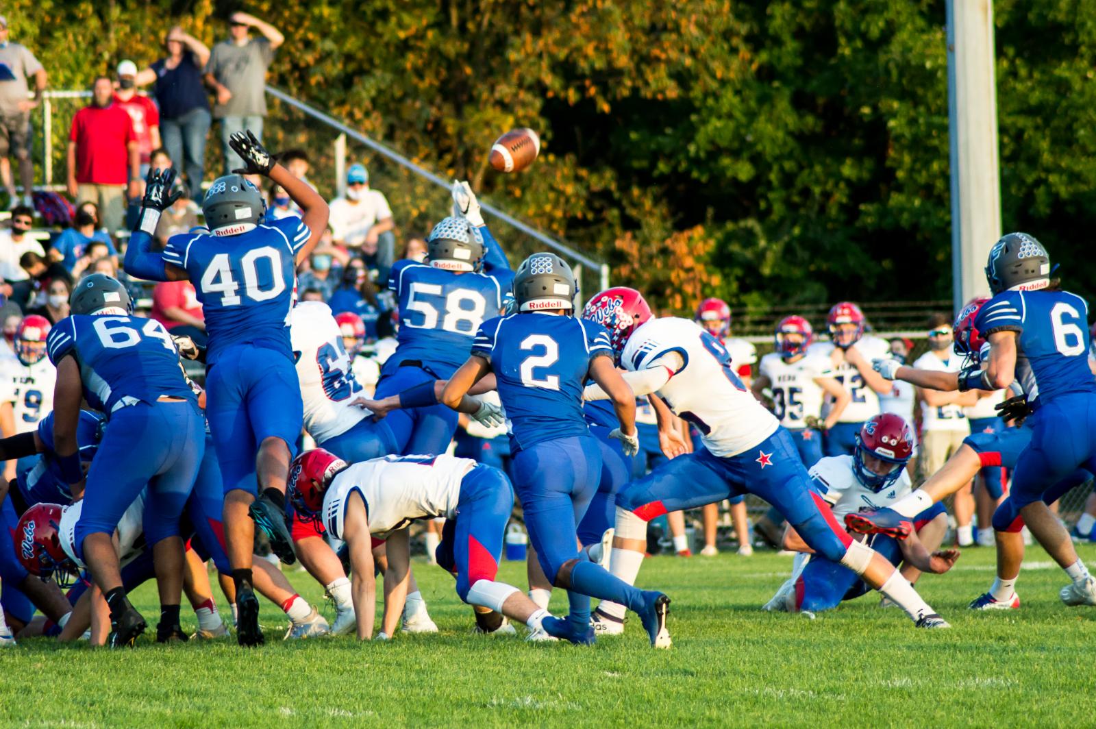 Football vs Western Boone