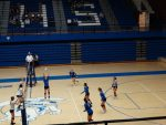 Volleyball Earns Second County Win Against the Bulldogs