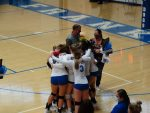 Volleyball Struggles Against Athenians