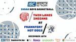 Boys Basketball vs Twin Lakes