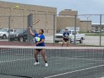 Girls Varsity Tennis falls to Delphi Community 3 – 2