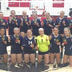 Blazer Volleyball Wins Weekend Tournament