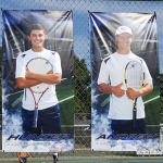 Tennis Team comes up just short on Senior Night