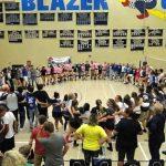 Blazer Volleyball Beats Memorial!