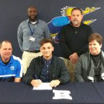 Jacob Woodruff signs with St. Francis